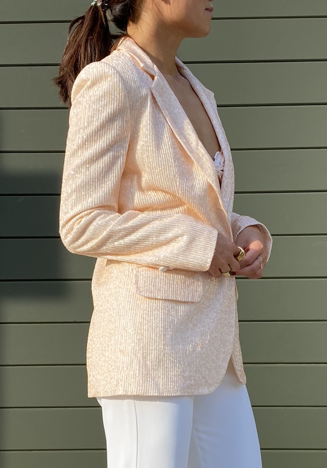 Bluemoon Blazer - Sequins by Jessica K on curated-crowd.com