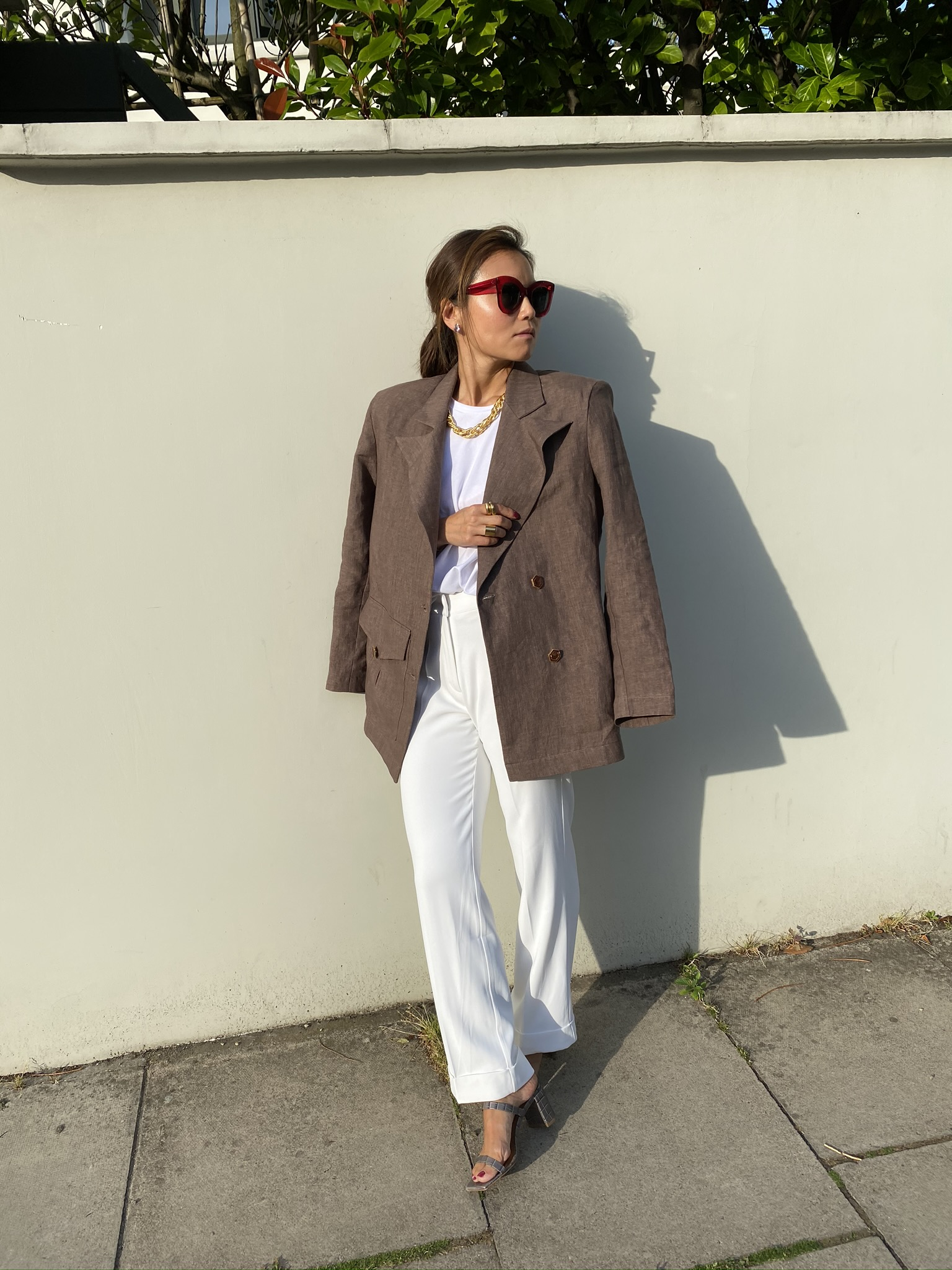 Feeling Fine in '99 Blazer - Brown by Manurí on curated-crowd.com