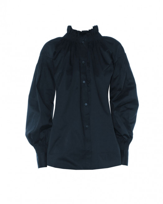 Smocked Silk Blouse by Teija on curated-crowd.com