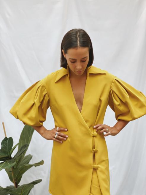 Mya Dress by Concepción Miranda on curated-crowd.com