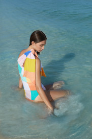 Azur Swimsuit - Island Hopping by PAPER London on curated-crowd.com