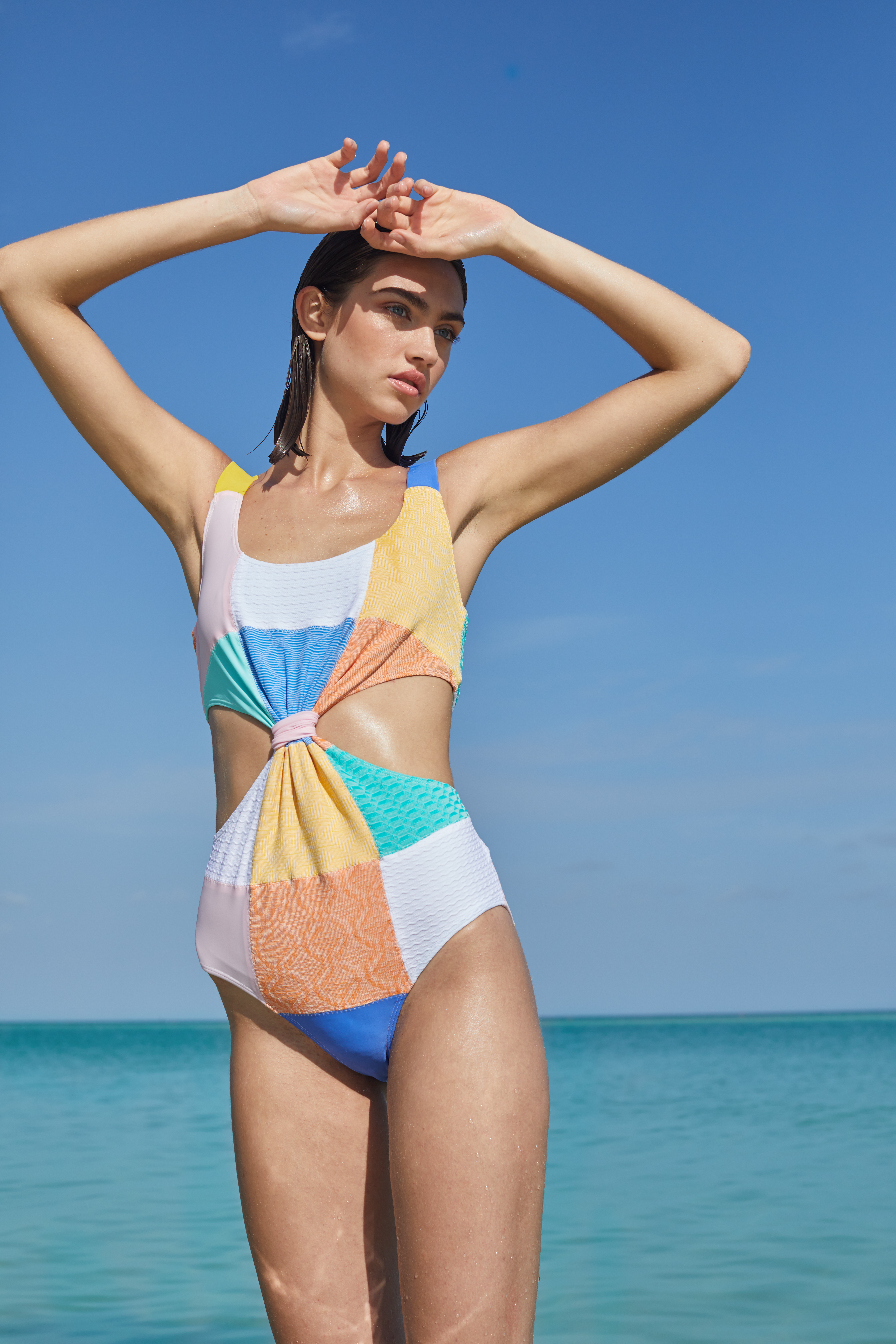 Barbuda Swimsuit by PAPER London on curated-crowd.com