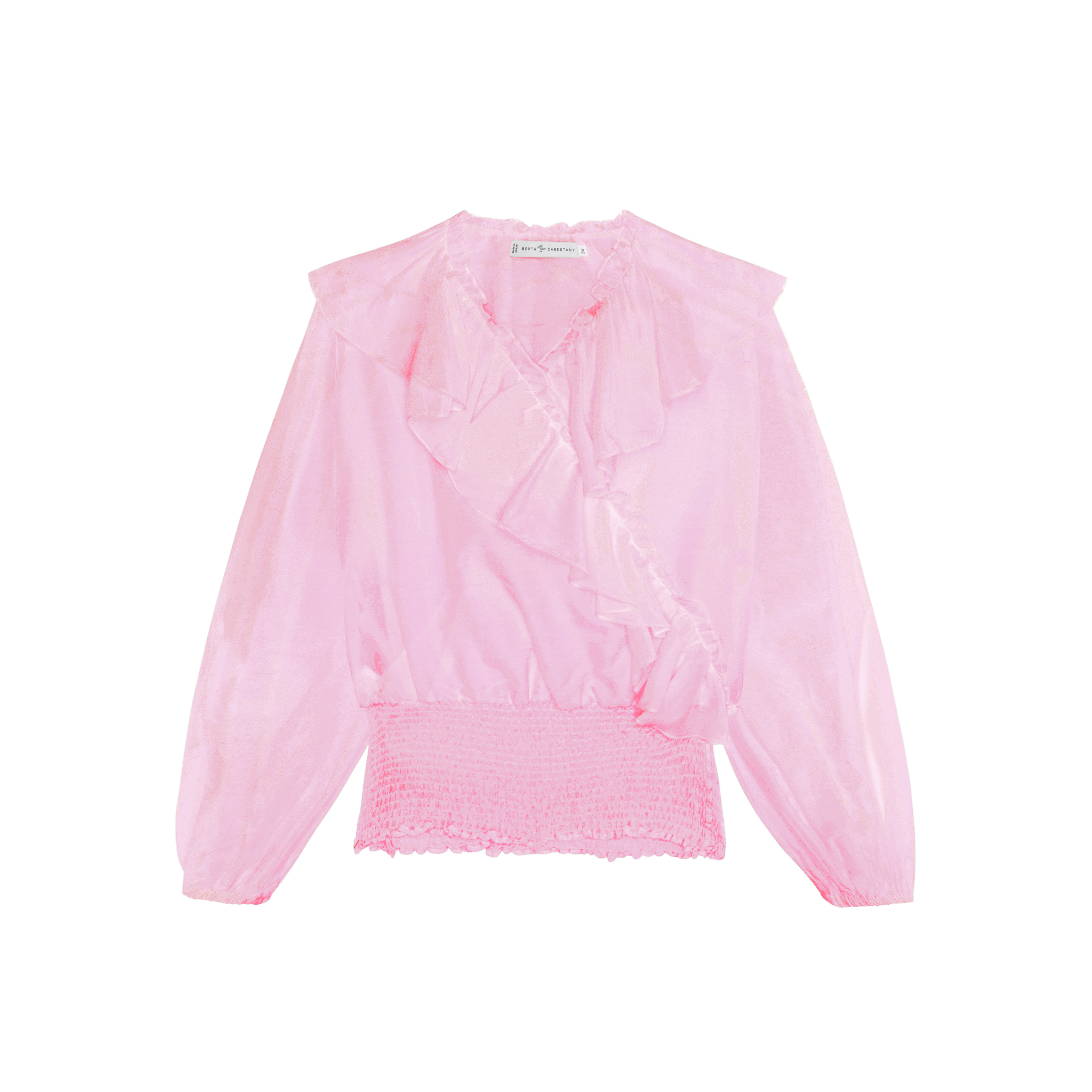Rita Blouse - Pink by Berta Cabestany on curated-crowd.com