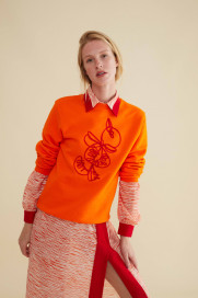 Calabaza Sweat - Orange by Berta Cabestany on curated-crowd.com