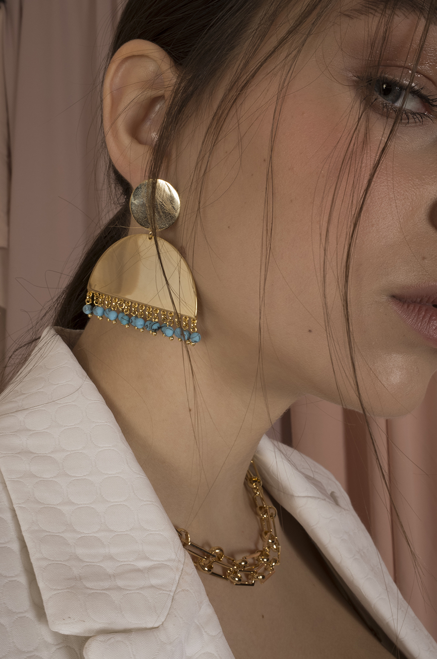 Bohemia Gold Earrings by Jessica K on curated-crowd.com