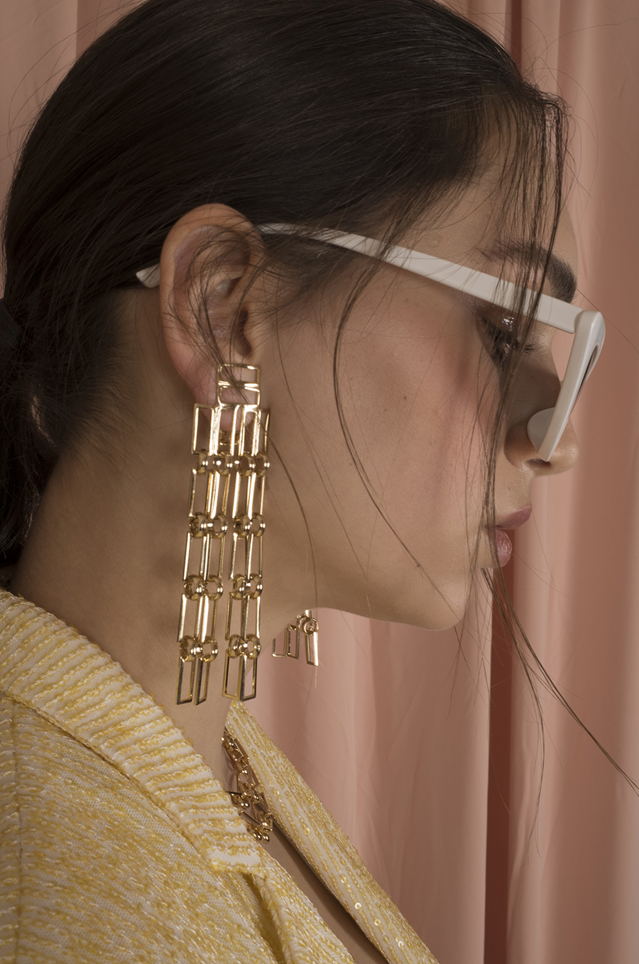 Hester Gold Earrings by Jessica K on curated-crowd.com