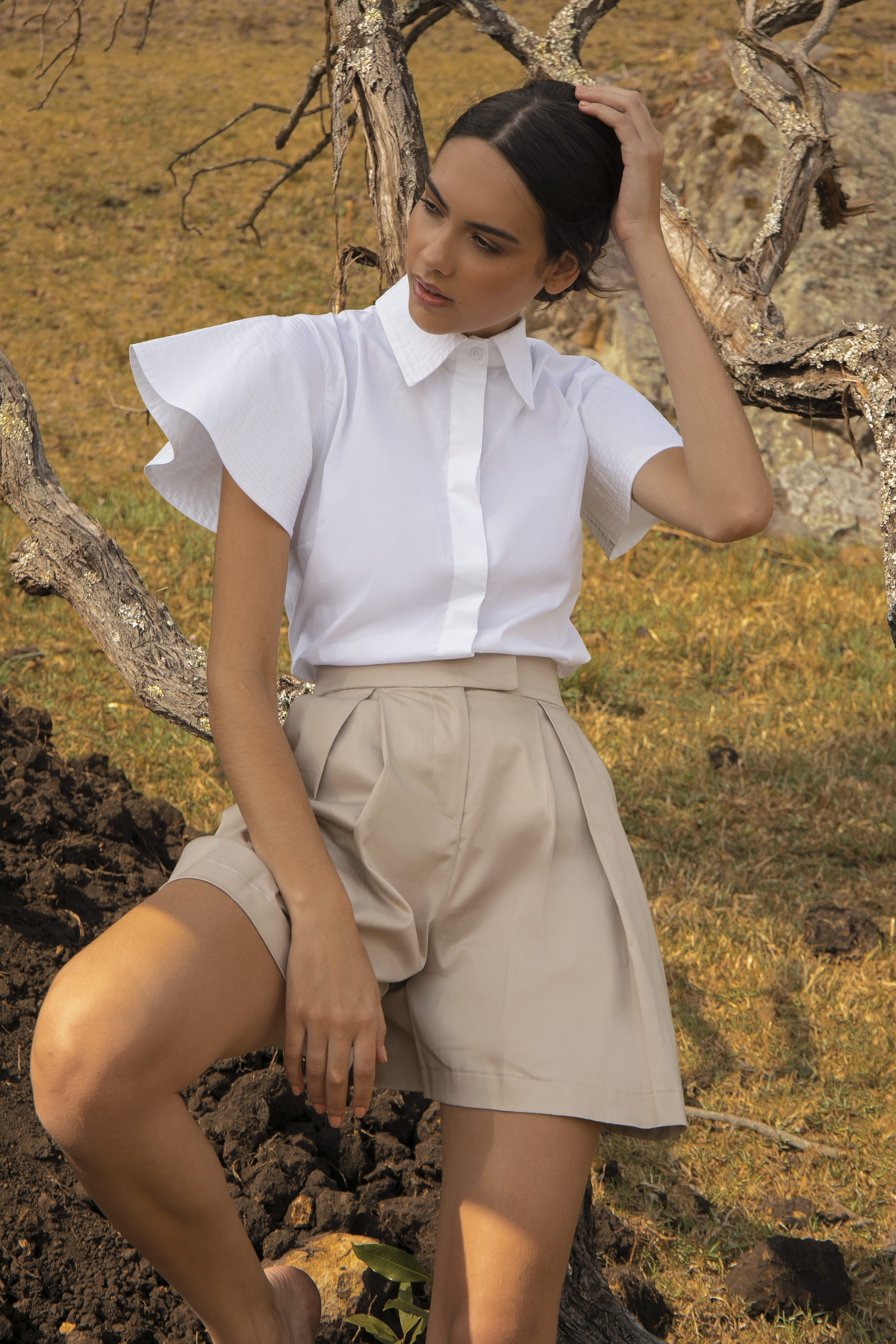Elodia Shirt by Molimol on curated-crowd.com