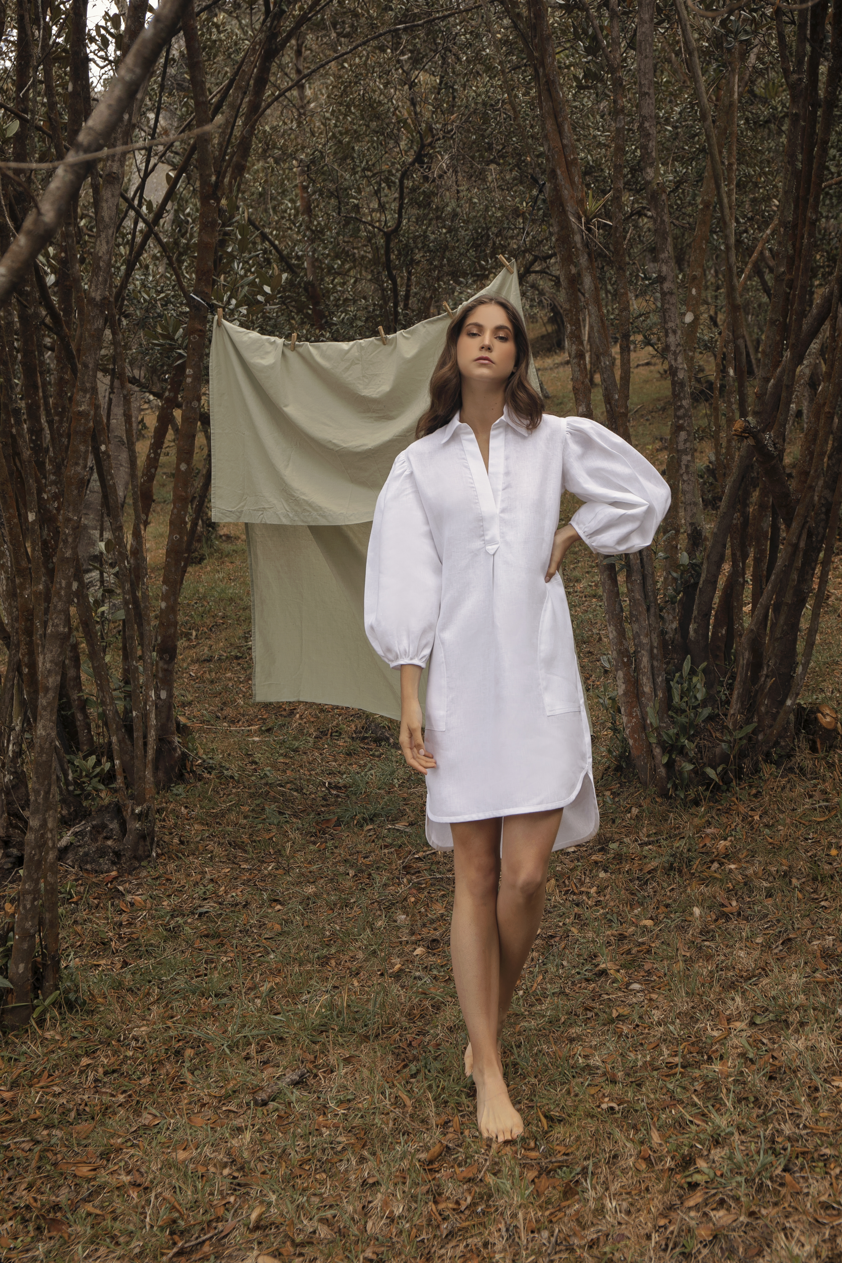 Leonor Dress by Molimol on curated-crowd.com