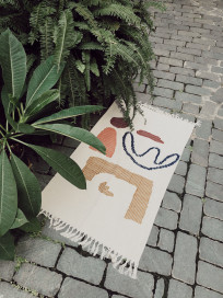 Abstract Rug by Laika on curated-crowd.com