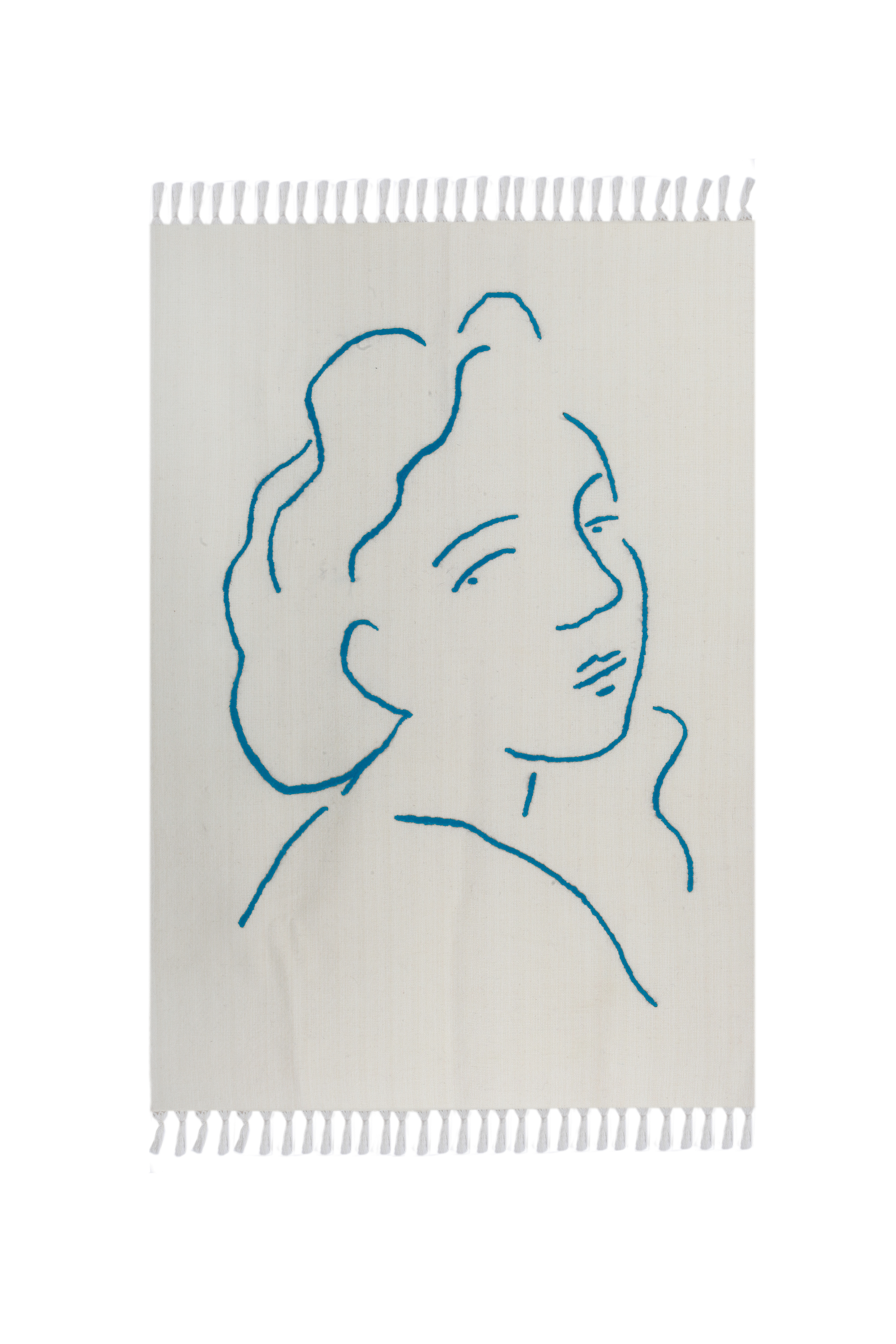 Pure Rug Blue by Laika on curated-crowd.com