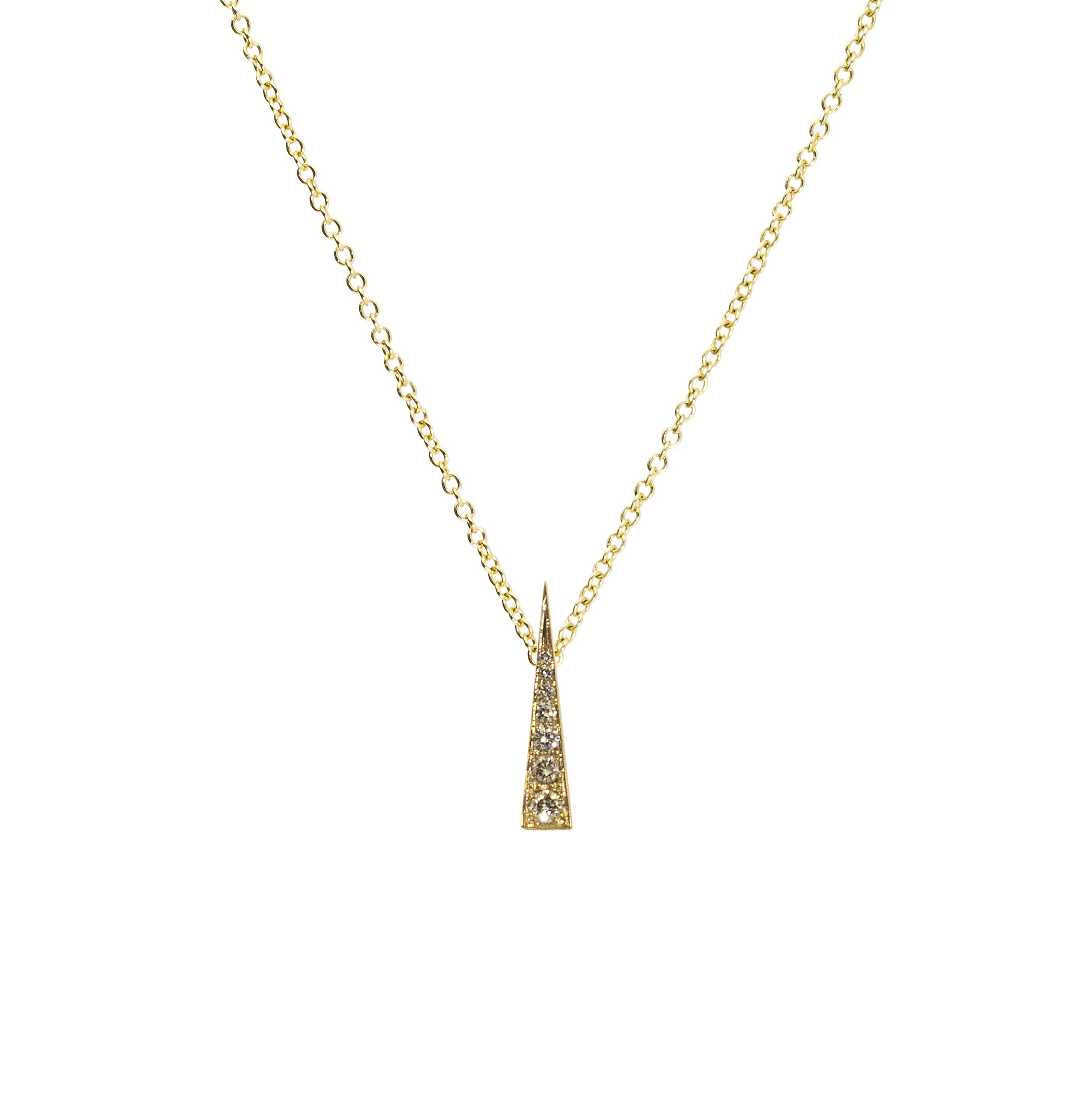 Spark Convertible Pendant – Diamond Yellow Gold by Daou Jewellery on curated-crowd.com