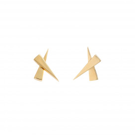 Kisses Gold Earrings by Daou Jewellery on curated-crowd.com