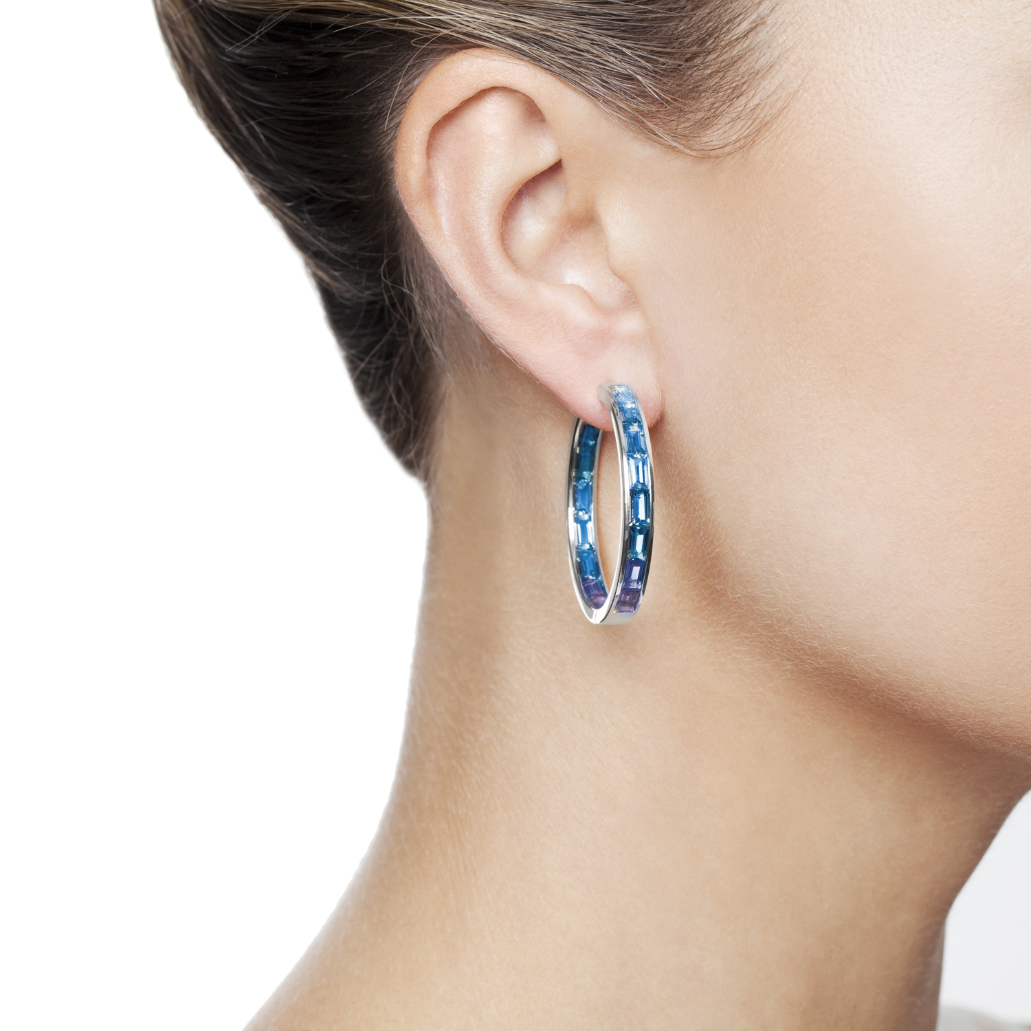 Dawn Light Hoop Earrings by Daou Jewellery on curated-crowd.com