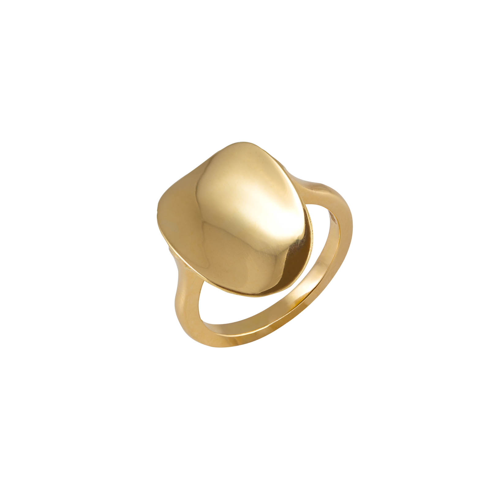 Pure Ellipse Ring by Daou Jewellery on curated-crowd.com