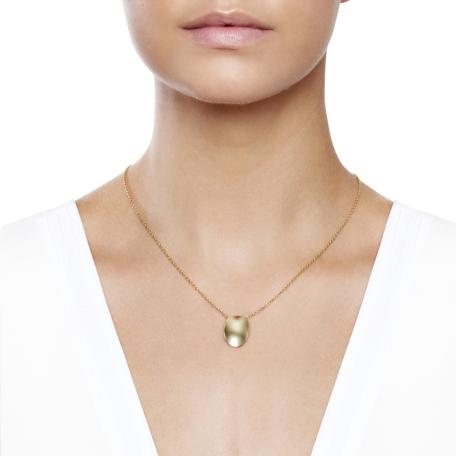 Pure Ellipse Pendant by Daou Jewellery on curated-crowd.com