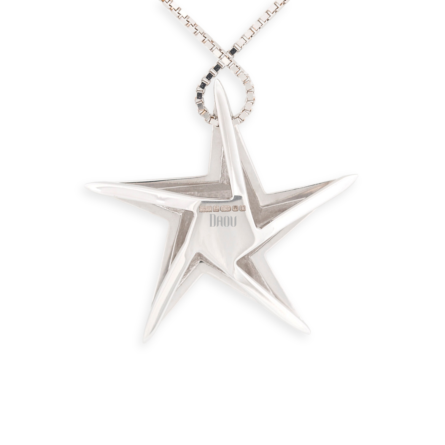 White Star Pendant by Daou Jewellery on curated-crowd.com