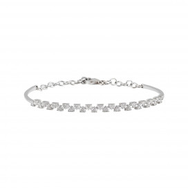 Sparks Diamond Bangle by Daou Jewellery on curated-crowd.com