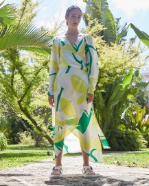 Oceanic Dress In Paradise by PAPER London on curated-crowd.com