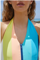 Inagua Swimsuit in Aquaholic by PAPER London on curated-crowd.com