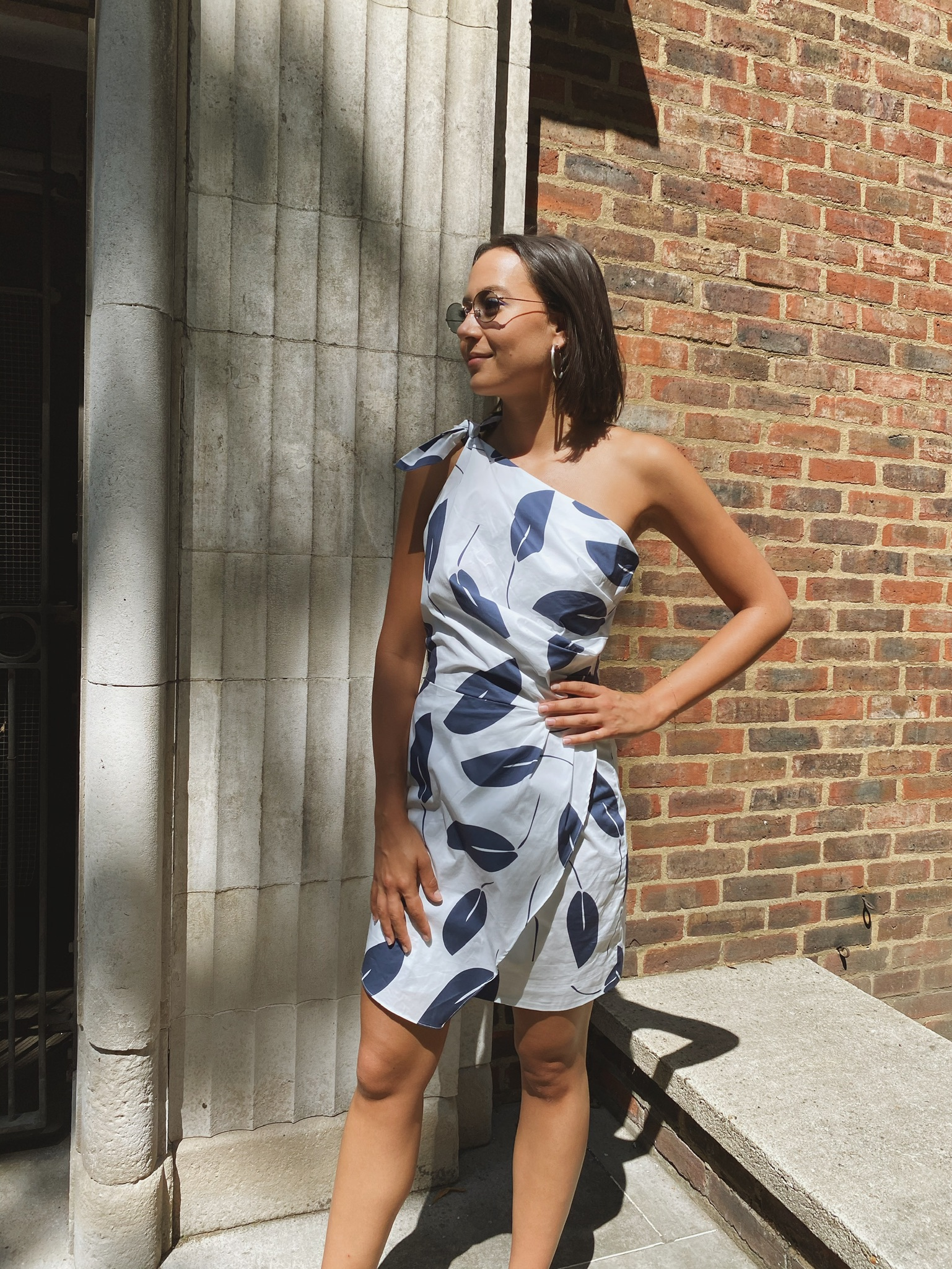 Naxos Dress by PAPER London on curated-crowd.com