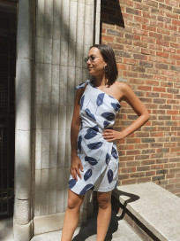 Naxos Dress - Take It Or Leaf It by PAPER London on curated-crowd.com