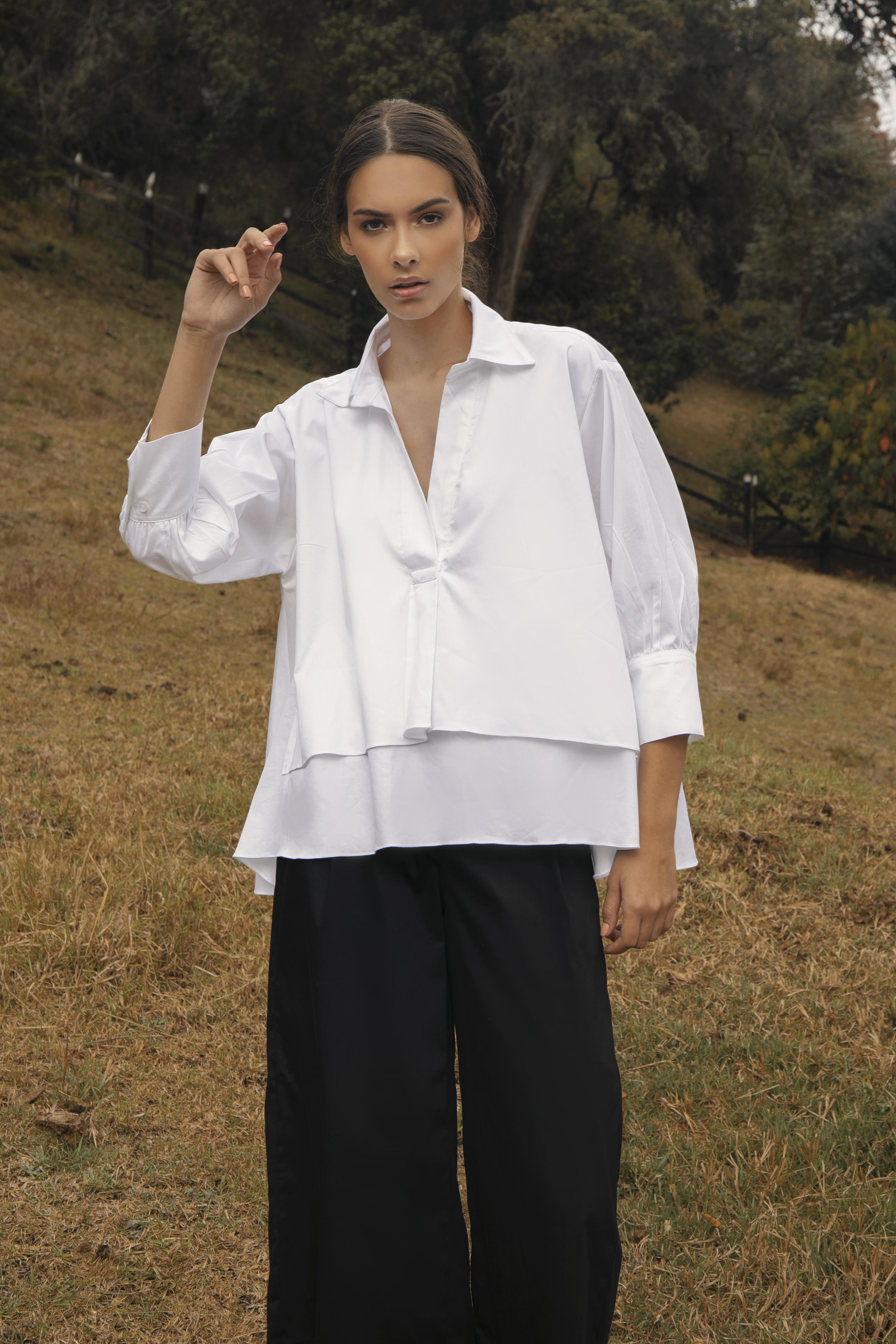 Bernarda Shirt by Molimol on curated-crowd.com