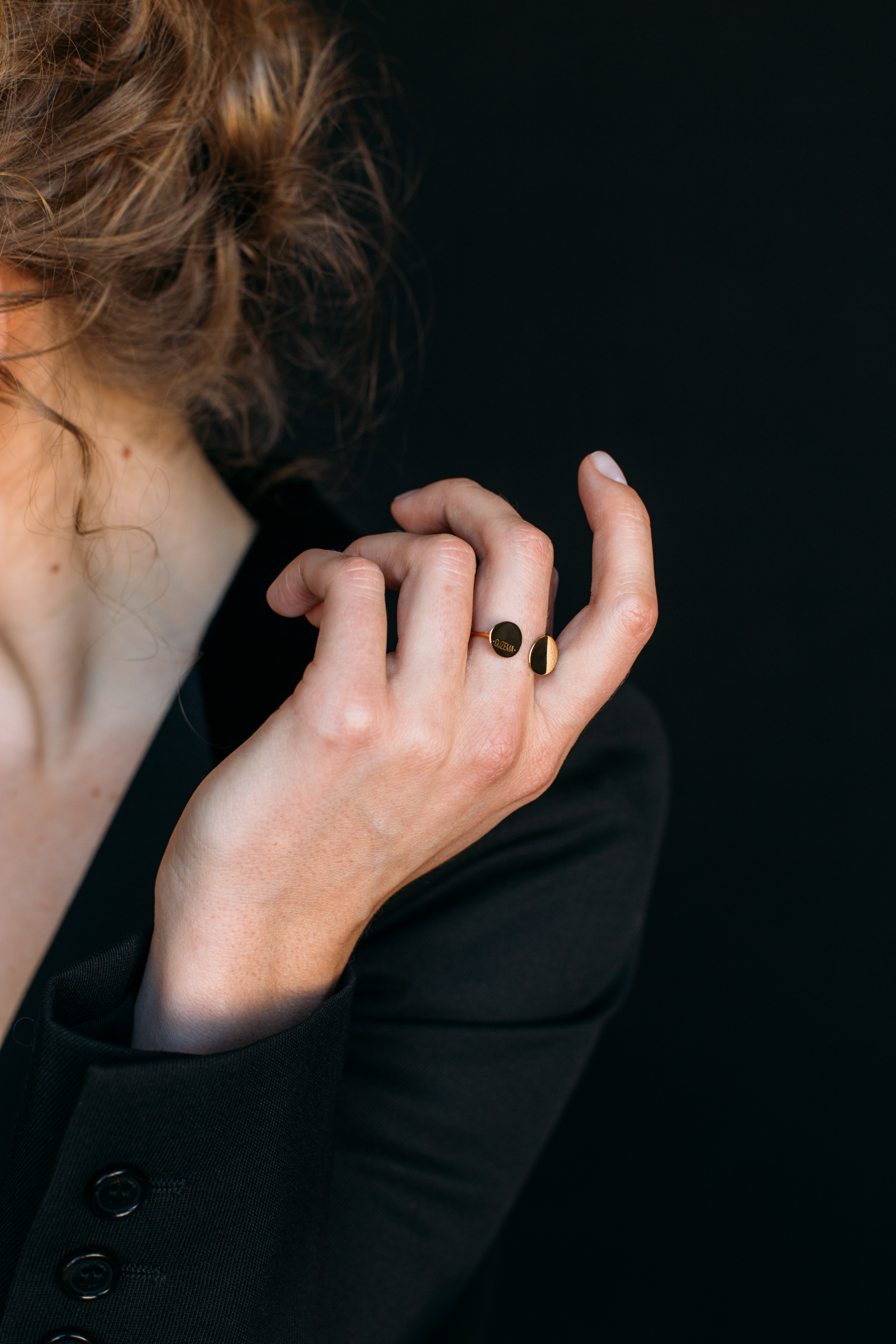 2 Flats Ring - Yellow Gold by Guzema Fine Jewellery on curated-crowd.com