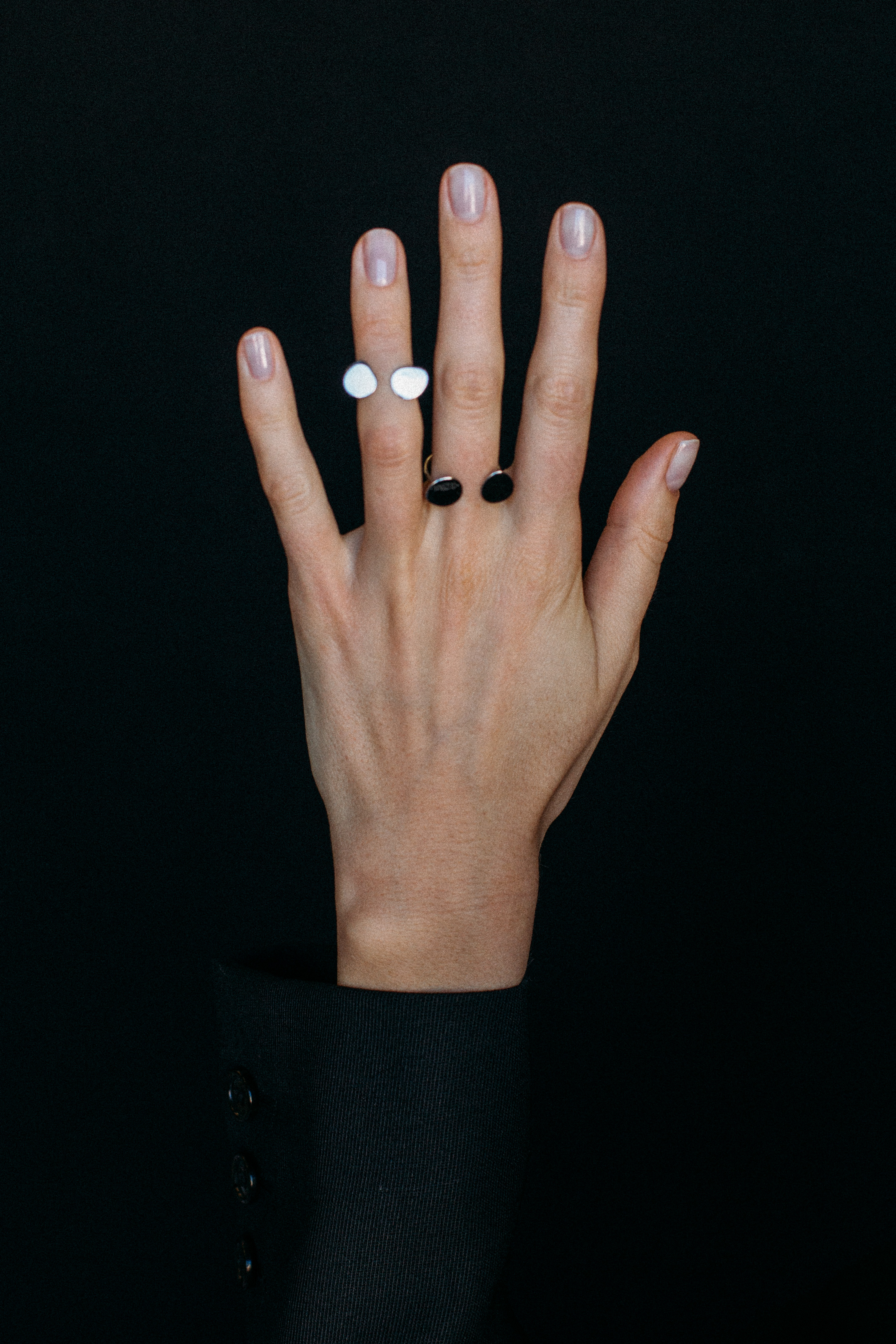 2 Flats Ring - White Gold by Guzema Fine Jewellery on curated-crowd.com