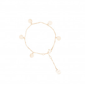5 Flats Anklet by Guzema Fine Jewellery on curated-crowd.com