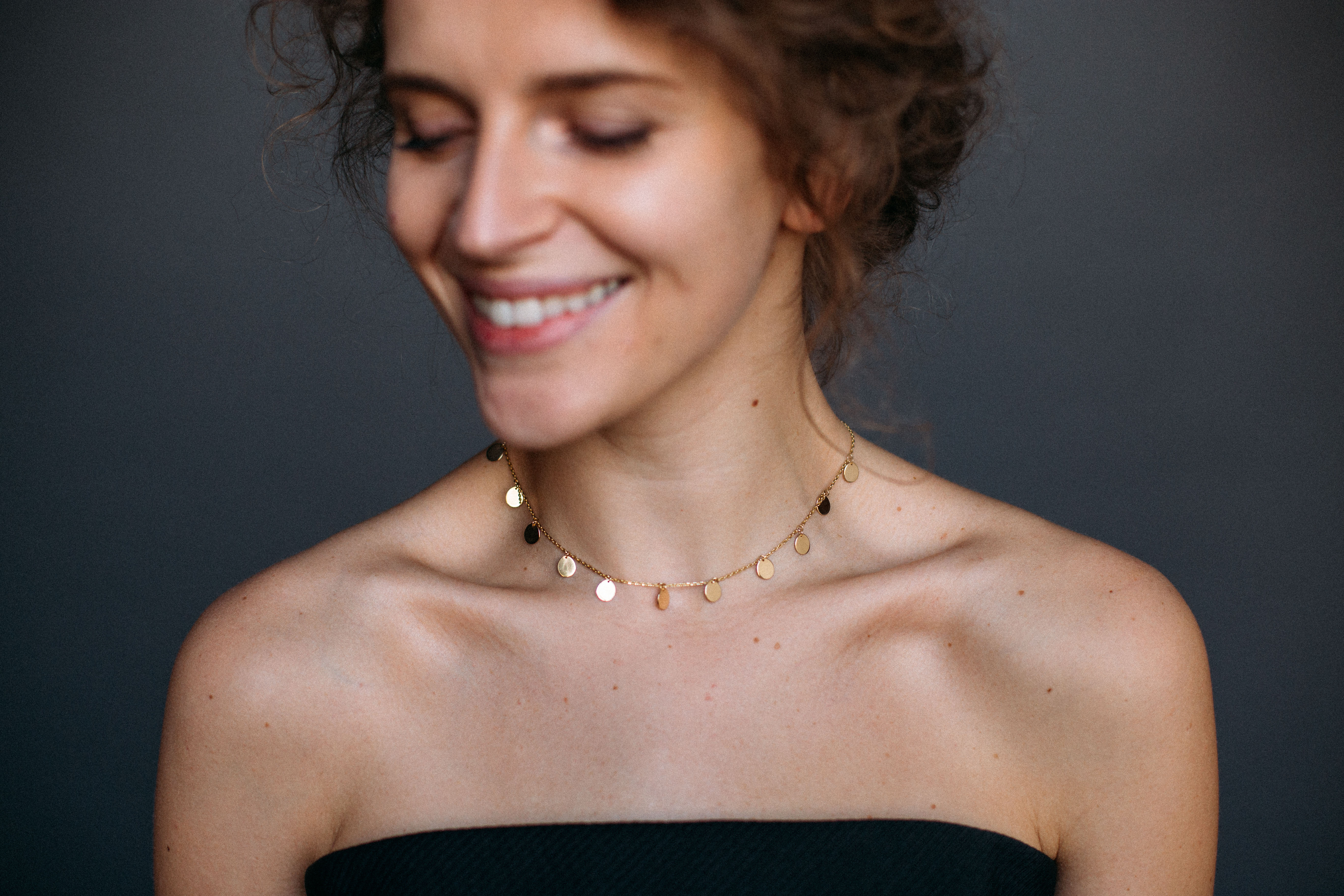 11 Flats Necklace by Guzema Fine Jewellery on curated-crowd.com