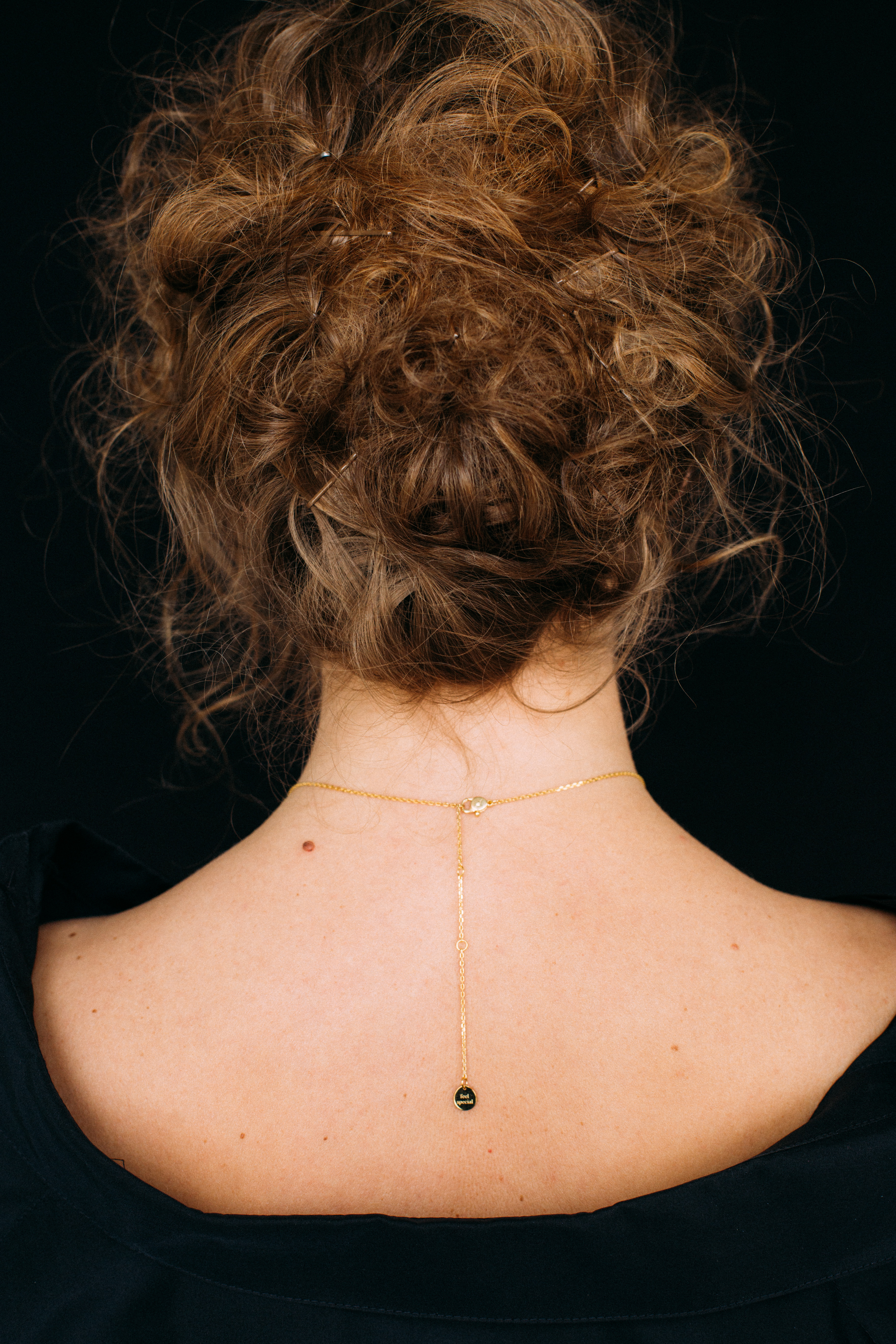 1 Flat Necklace - Yellow Gold by Guzema Fine Jewellery on curated-crowd.com