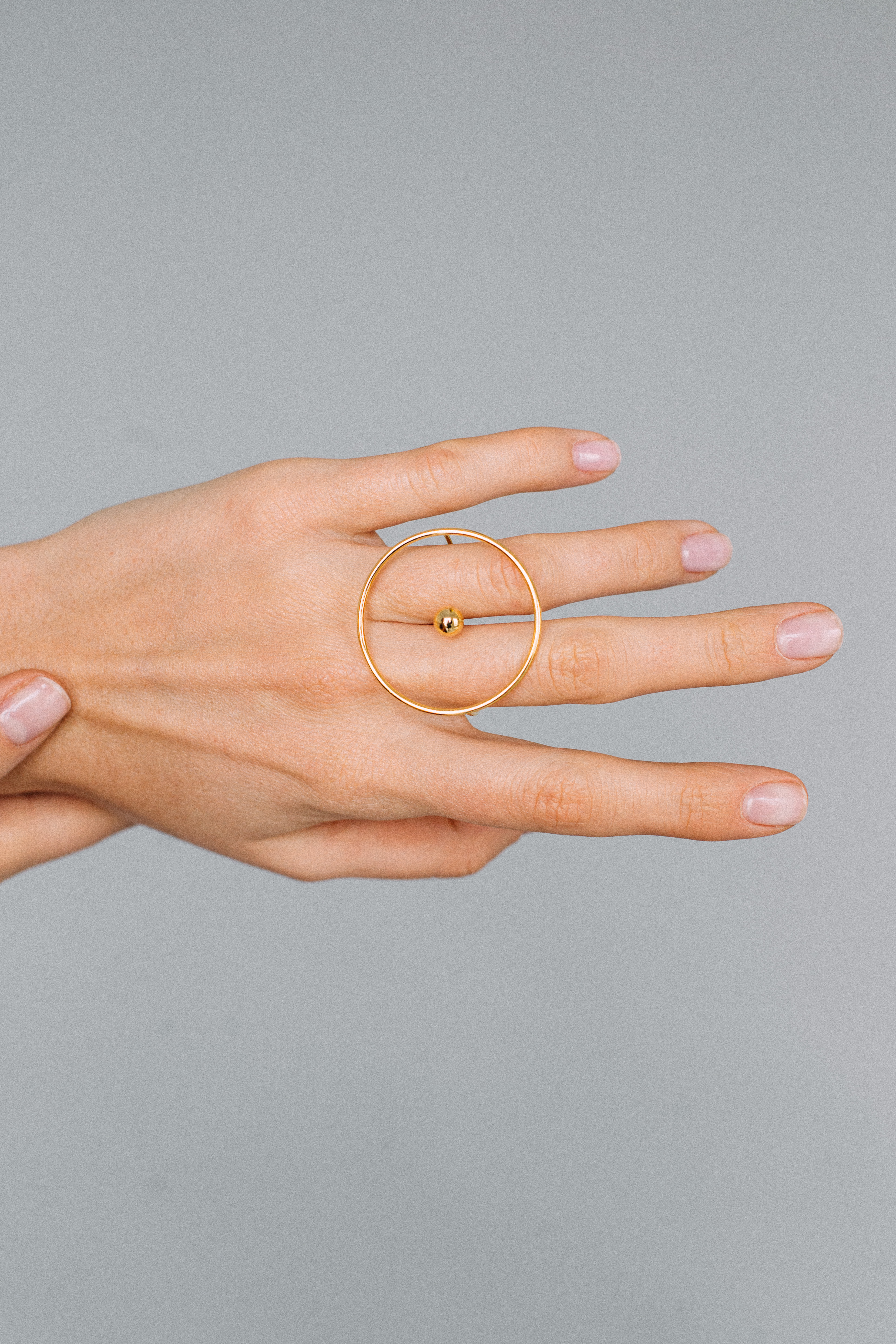Planet Ring - Yellow Gold by Guzema Fine Jewellery on curated-crowd.com