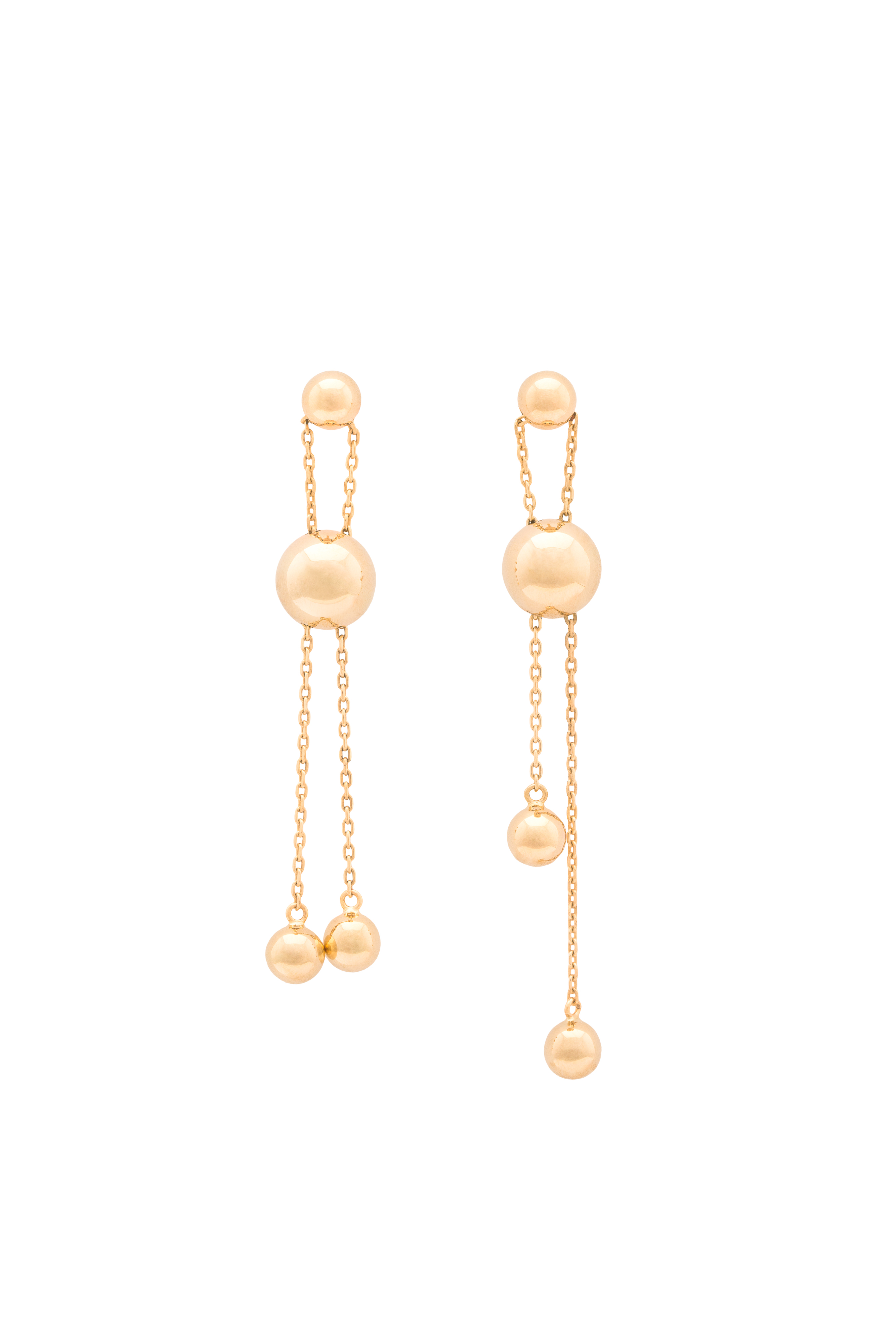 Big Orb Earrings by Guzema Fine Jewellery on curated-crowd.com