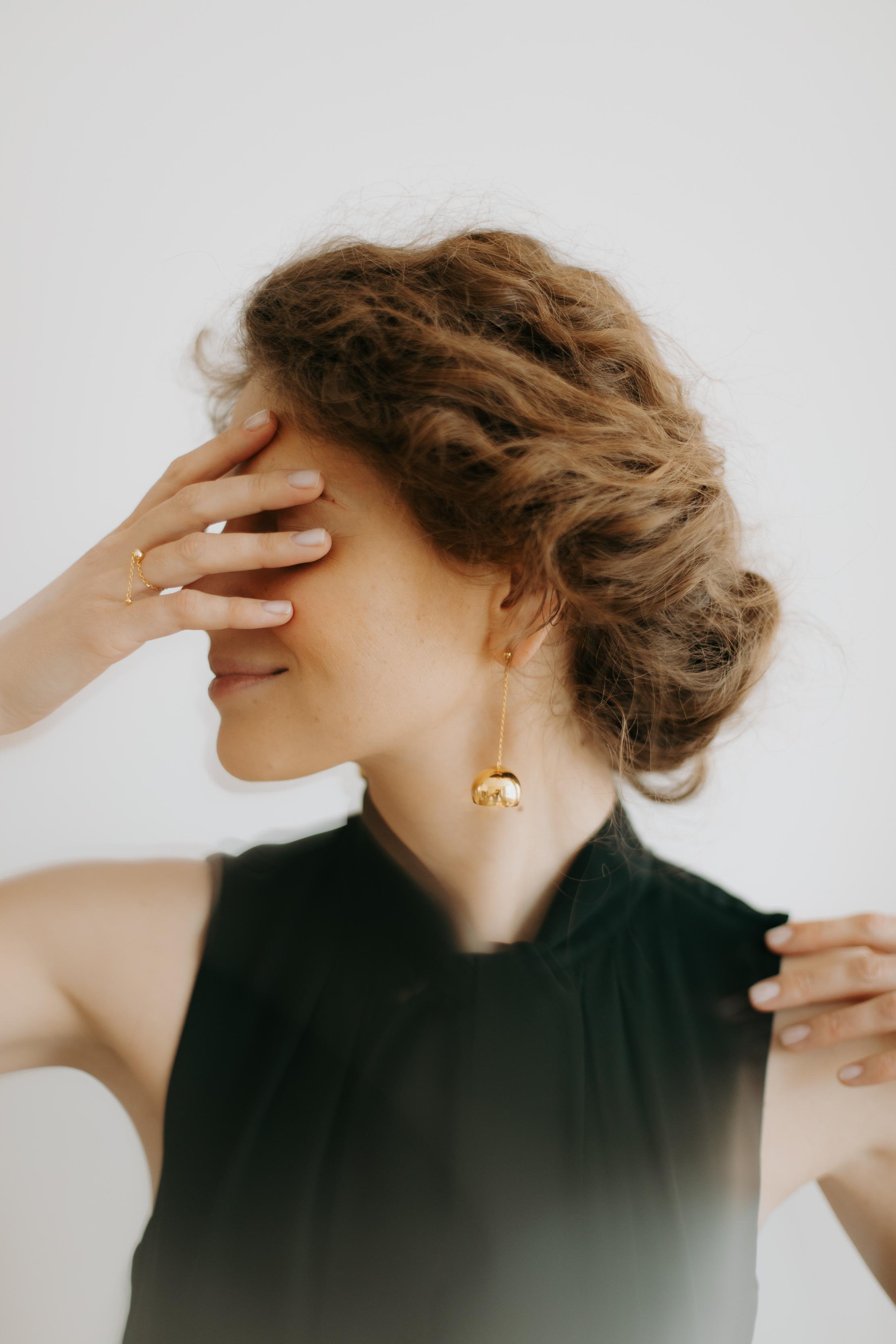 Hemisphere Earrings by Guzema Fine Jewellery on curated-crowd.com