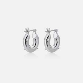 Seri Earrings - Silver by Emili on curated-crowd.com