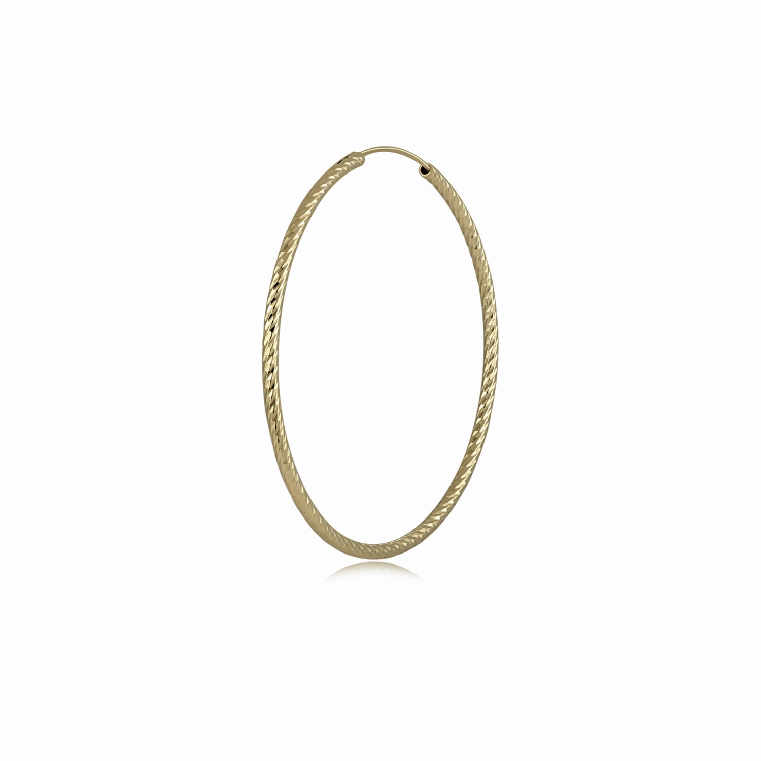 Remi Hoops - Gold by Emili on curated-crowd.com