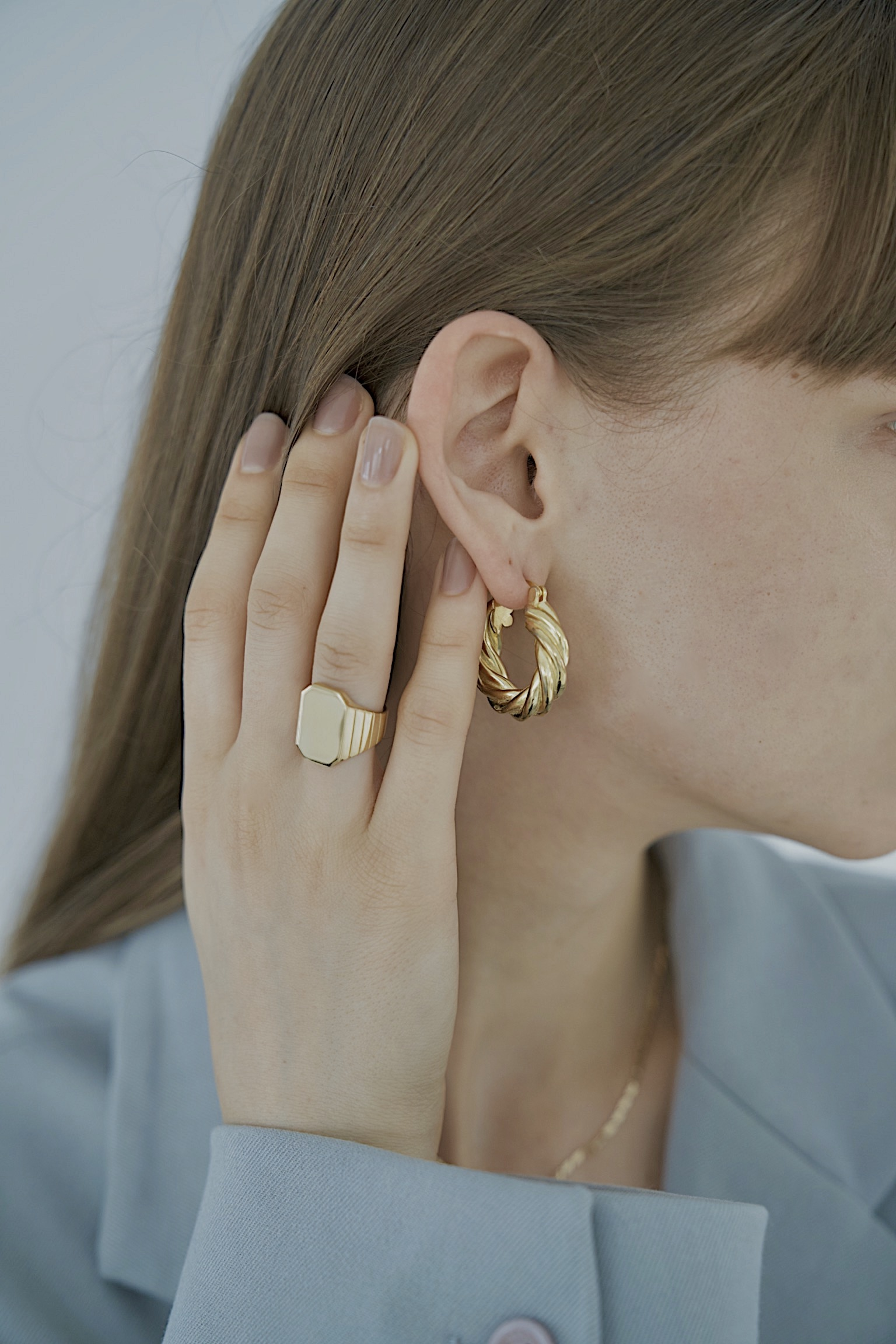 Leixie Gold Ring by Emili on curated-crowd.com