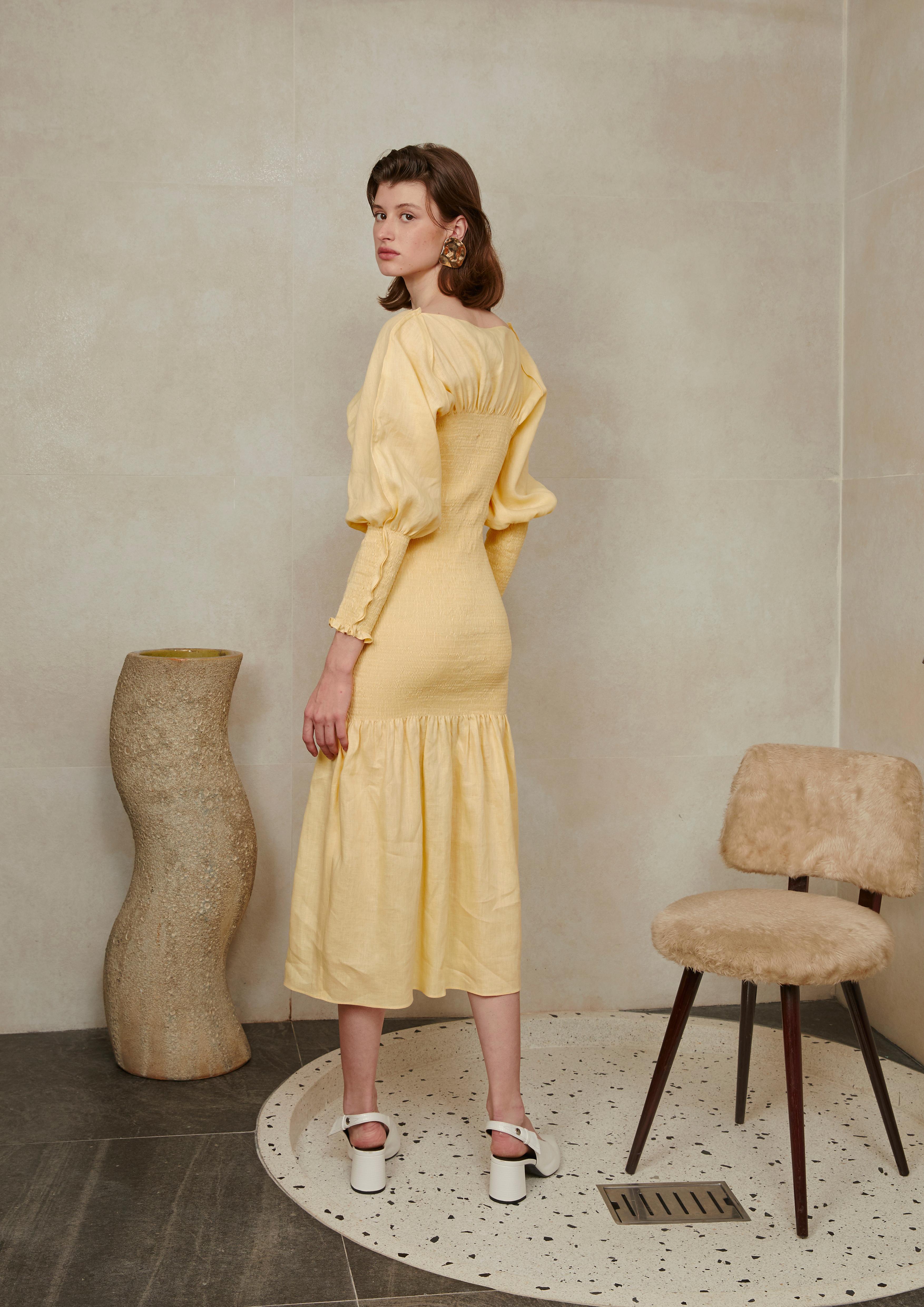 Rachel Dress by Voranida on curated-crowd.com