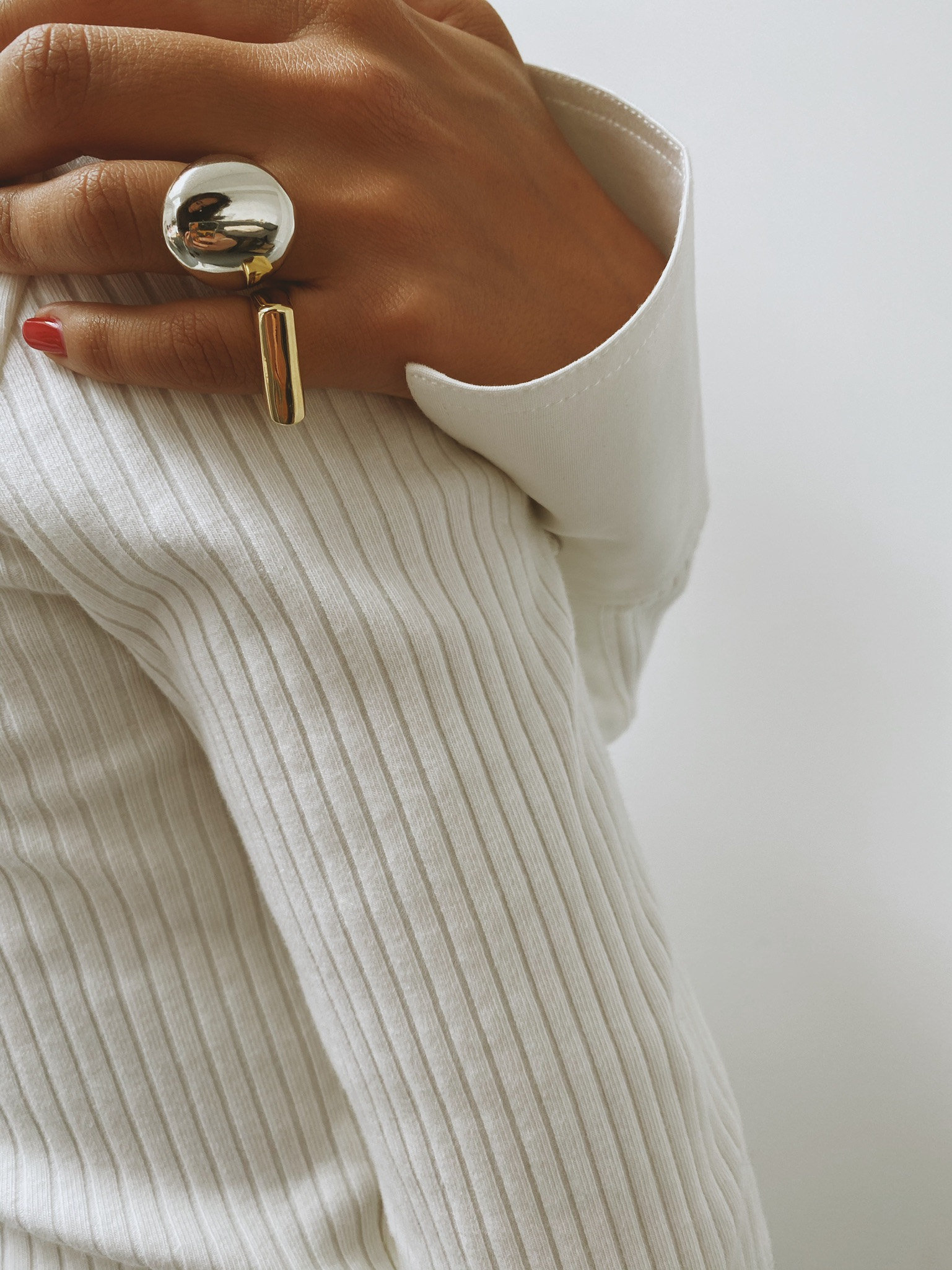 Chace Ring - Gold by Emili on curated-crowd.com