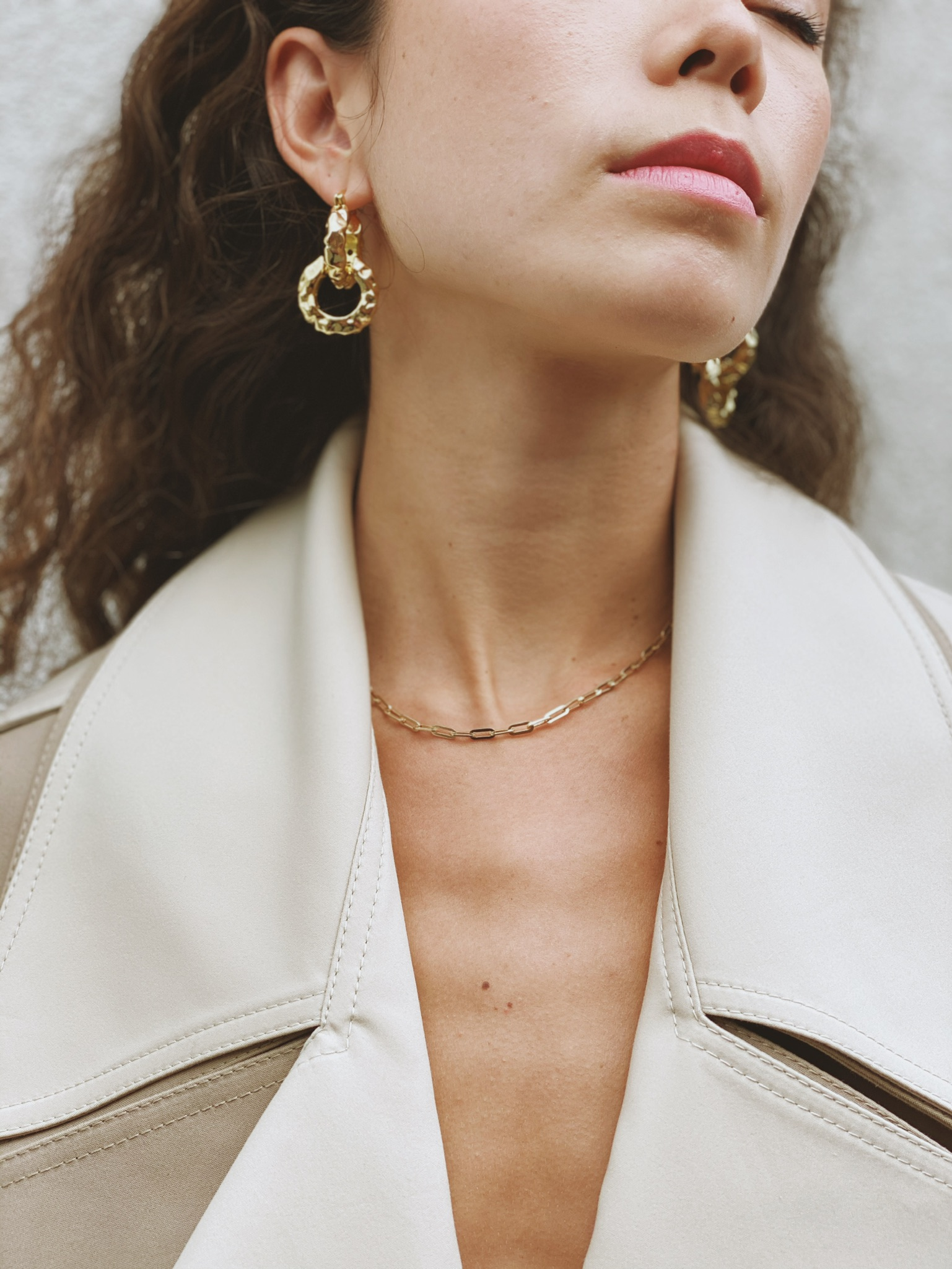 Ralph Necklace - Gold by Emili on curated-crowd.com