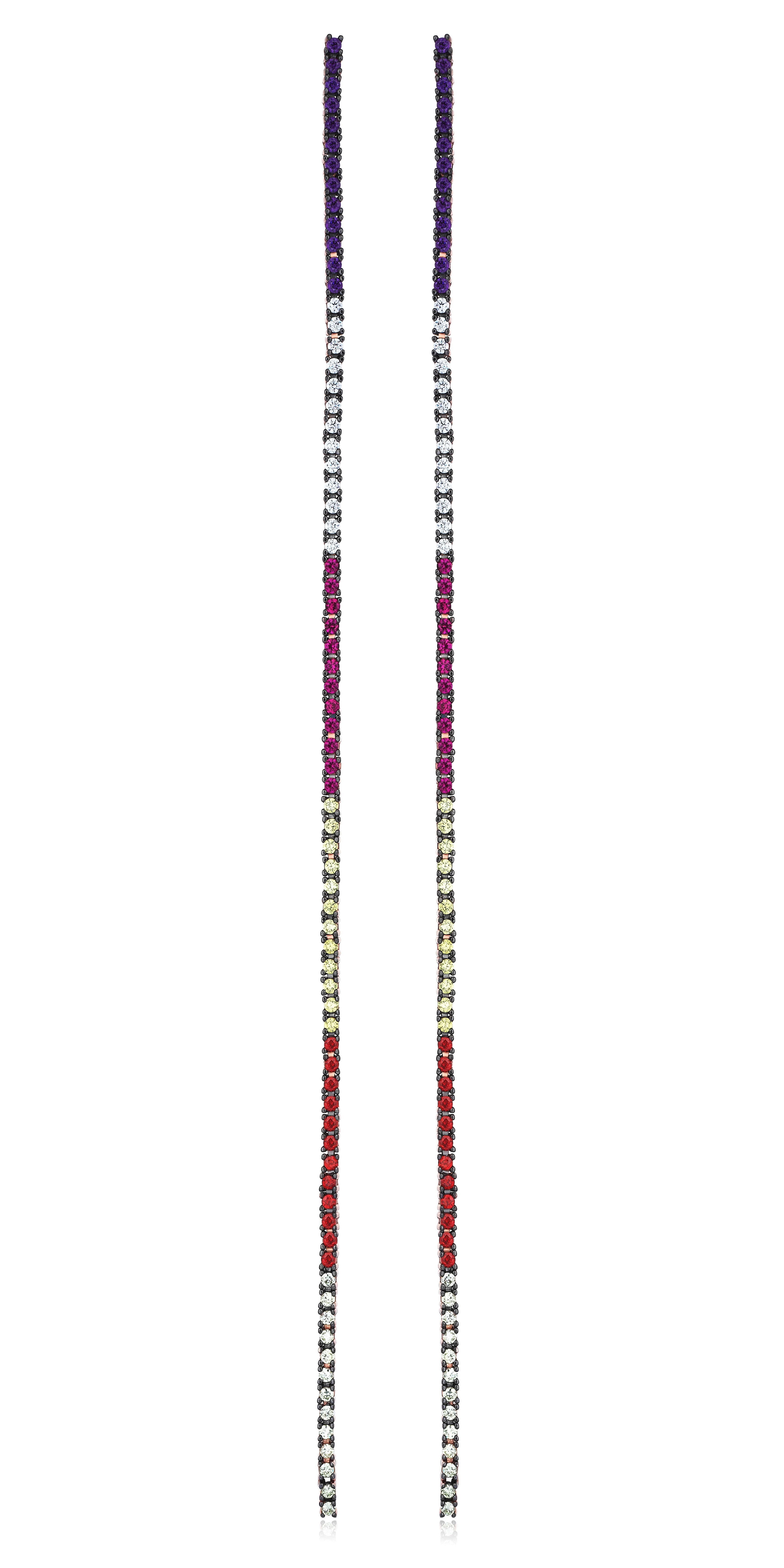 Upside Down Earrings by Talita London on curated-crowd.com