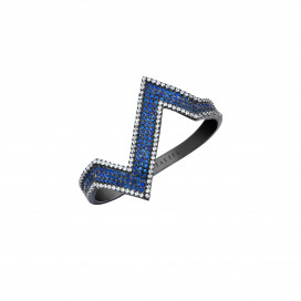 Zig Zag Ring by Talita London on curated-crowd.com