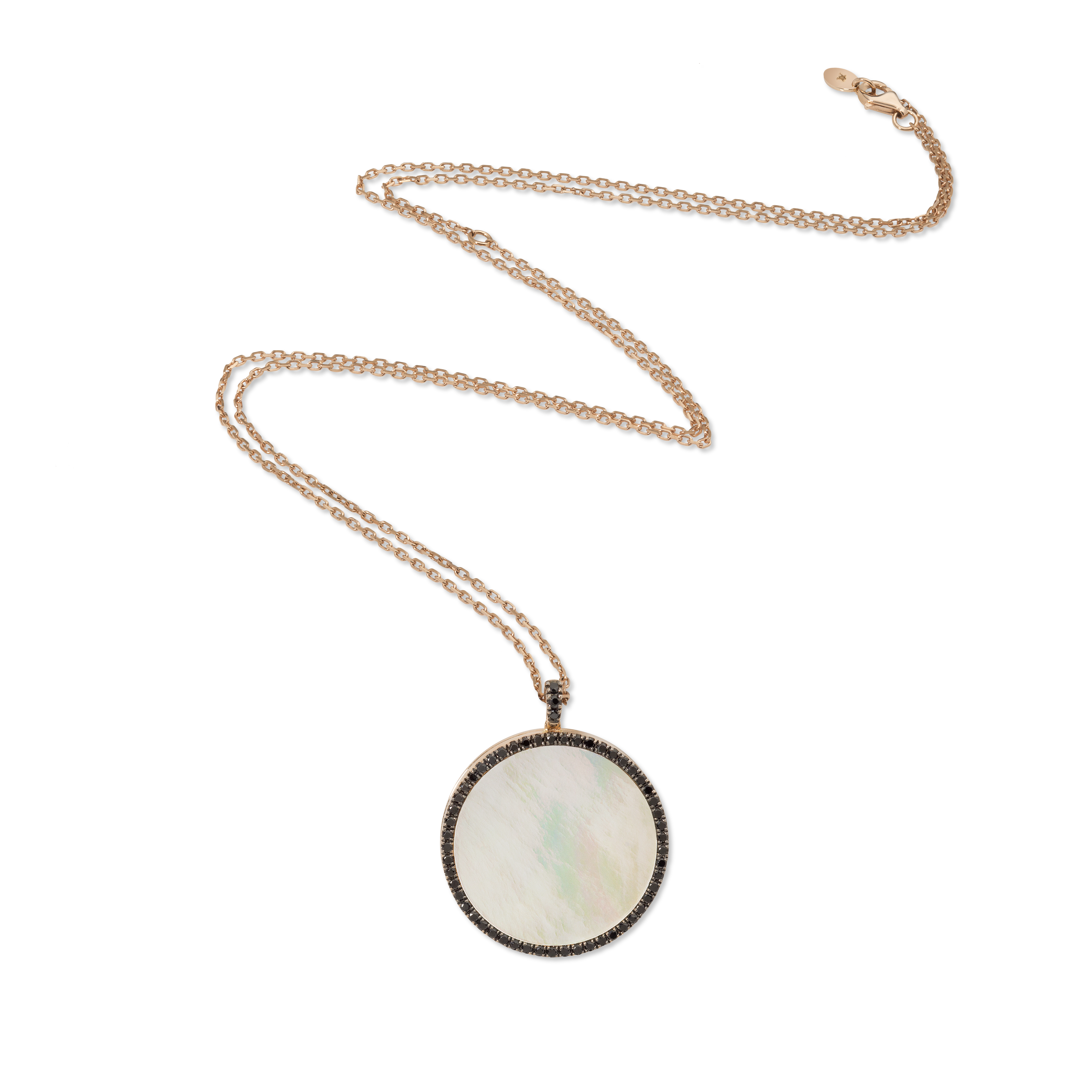 Wanderlust Locket Necklace - 18K Gold by Aveen on curated-crowd.com