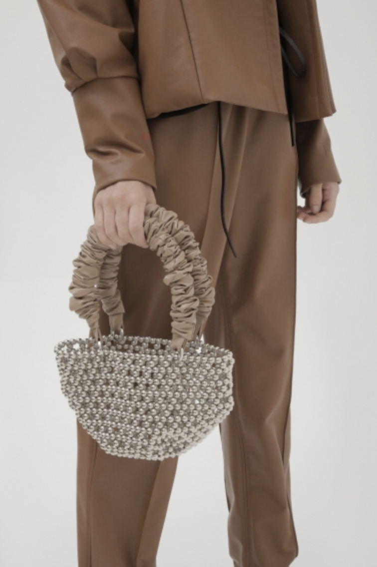 Tako Silver Tote Bag by 0711 Tbilisi on curated-crowd.com