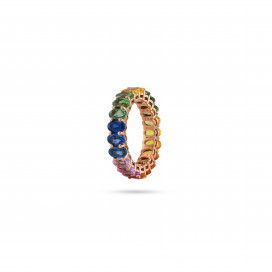 Rainbow Ring by Meher Jewellery on curated-crowd.com