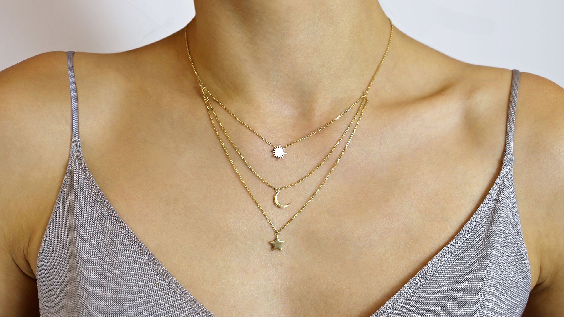 Cosmos Necklace by Meher Jewellery on curated-crowd.com