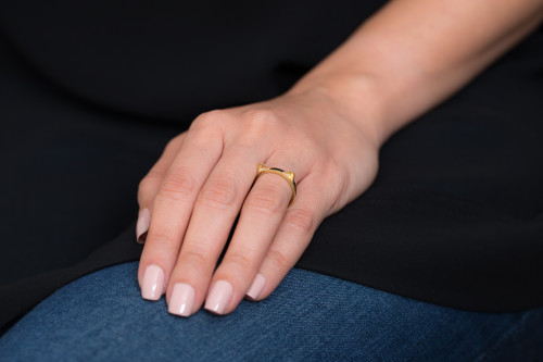 Meow Ring by Meher Jewellery on curated-crowd.com