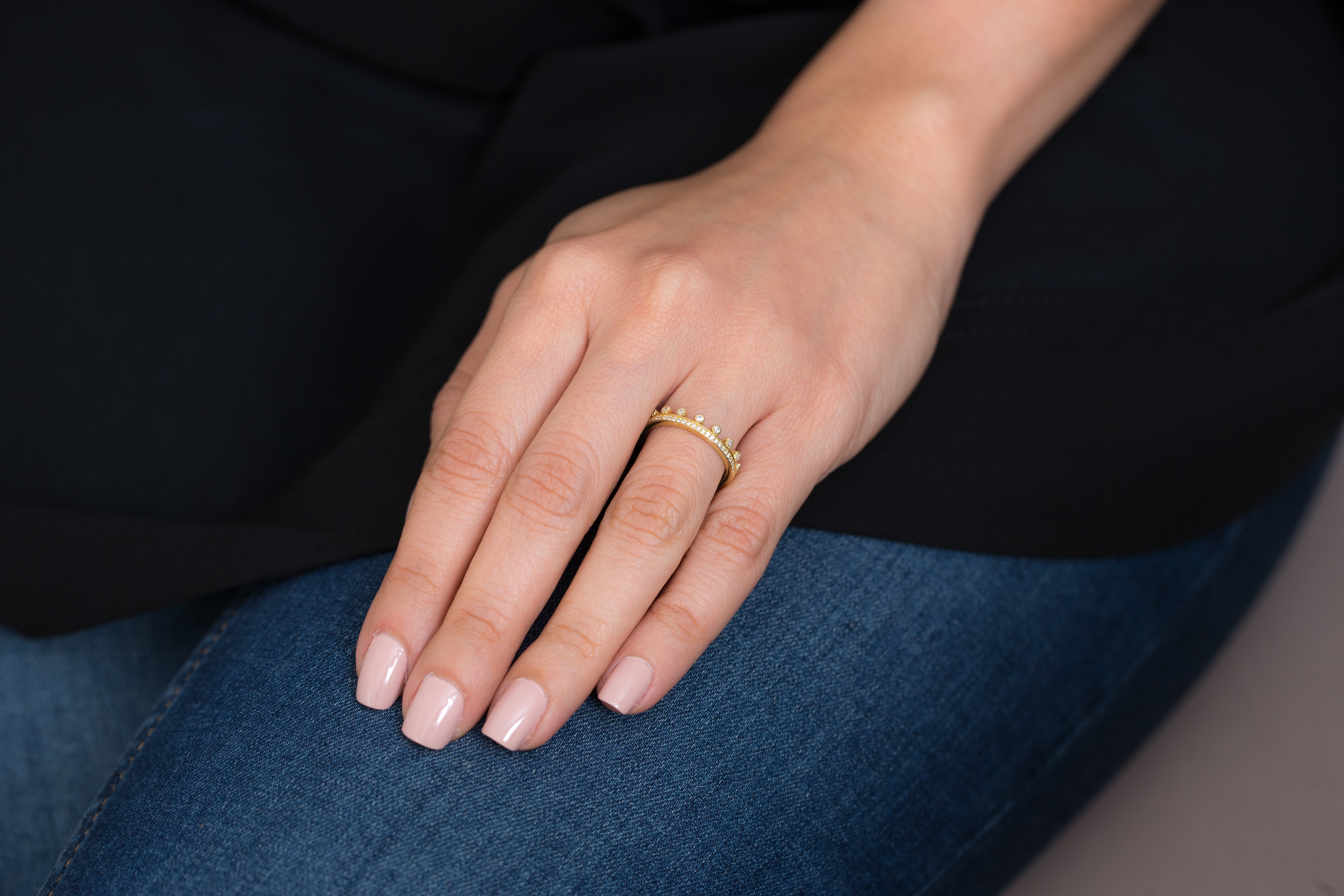Sovereign Ring by Meher Jewellery on curated-crowd.com