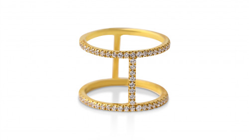 Bridge in Time Ring by Meher Jewellery on curated-crowd.com