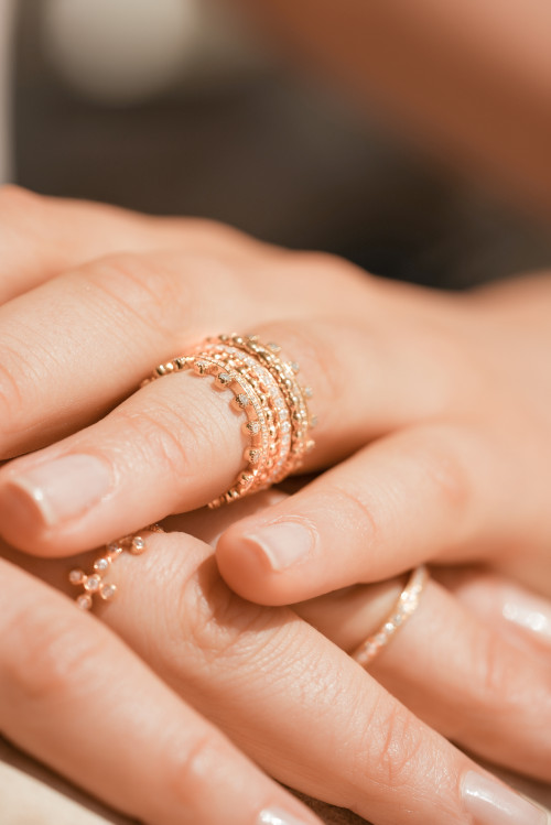 Bubble Wrapped Ring by Meher Jewellery on curated-crowd.com